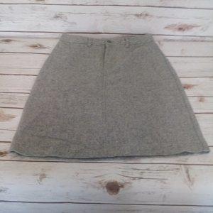 J Crew Wool Skirt Size 4